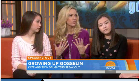 Kate Gosselin's Twin Daughters Cara and Mady Rebel and Humilate Mother On Live Television (VIDEO)