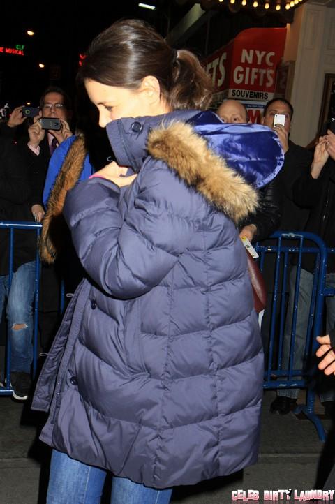 """Katie Holmes' Jealous Rage: Tells Tom Cruise """"You Make Me Sick"""""""