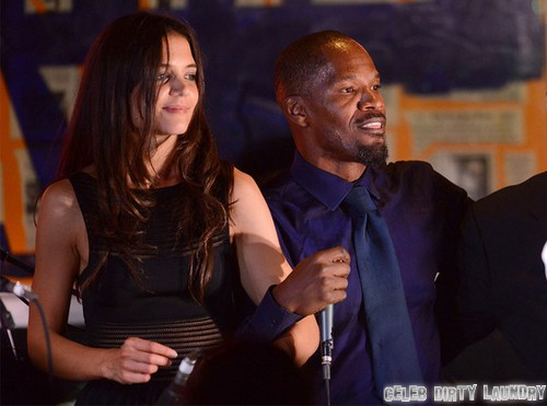 Katie Holmes and Jamie Foxx Admit Hooking Up For Past Year - Jamie Says 'Just Friends' - With Benefits?