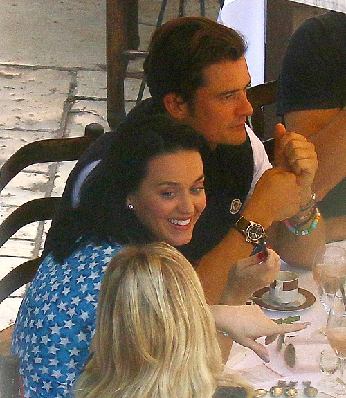Katy Perry, Orlando Bloom Engaged: Katy Spotted With Massive Engagement Ring After Break-Up Rumors