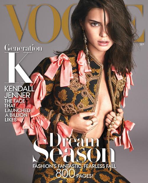 Kendall Jenner Reveals Caitlyn Jenner Transition Secrets in Vogue September 2016