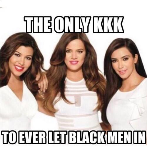Khloe Kardashian KKK Instagram Klan Joke (PHOTO)