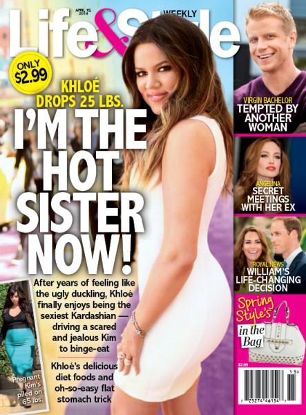Khloe Kardashian Flaunts New Hot Body During Kim Kardashian's Uncontrollable Weight Gain  0403