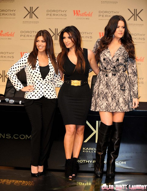 The Kardashian Kollection Launch At Dorothy Perkins