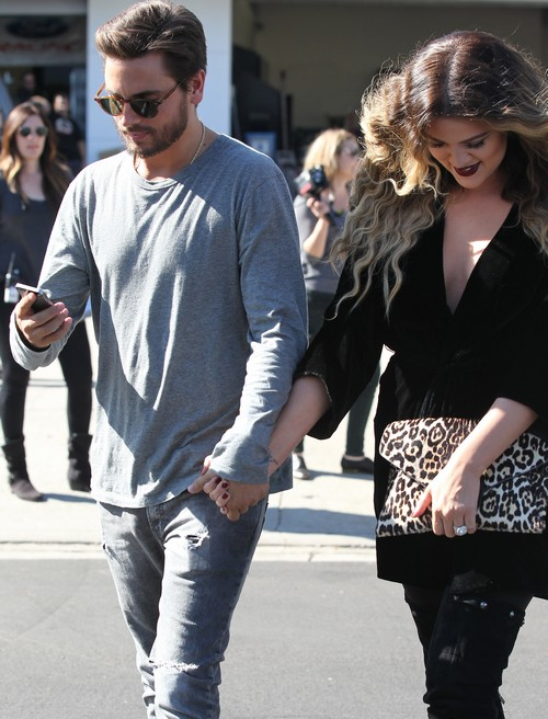Khloe Kardashian and Scott Disick Caught Holding Hands - Is Scott Swapping Sisters? (PHOTOS)