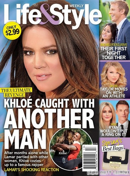 Khloe Kardashian Cheating With Rapper The Game - Lamar Odom Walks Out (Photo)