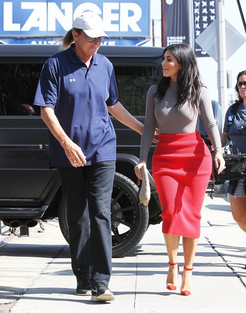 Kim Kardashian and Bruce Jenner Bond Over Disgust With Kris Jenner:  Kris Ruining Kanye West Marriage (PHOTOS)