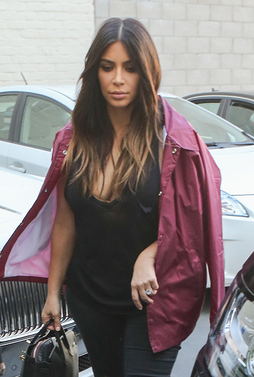 Kim Kardashian Skinny Body Double Kami Osman Films Keeping Up With The Kardashians