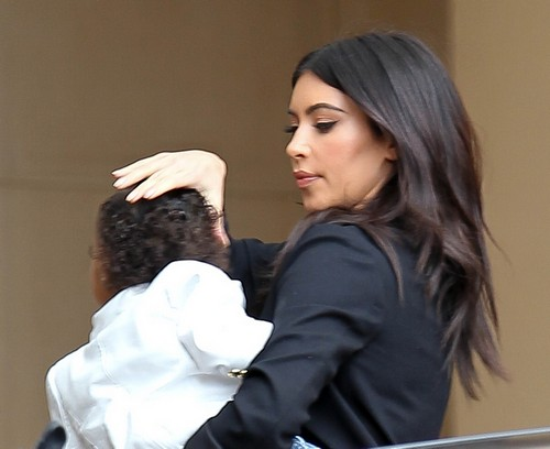 Kim Kardashian Fights Kanye West Over North West Corporal Punishment - Different Parenting Styles?