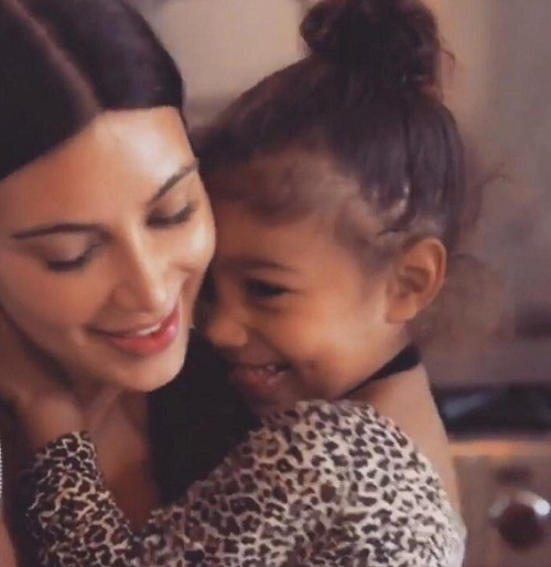 Kim Kardashian Slammed For Controversial Photo Of Saint West