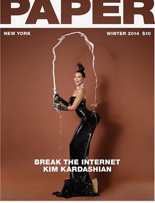 "Kim Kardashian's Bare Butt Rejected by Champagne Sponsors: Paper Magazine Photos in ""Poor Taste"""
