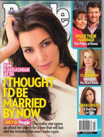 Kim Kardashian Talks Marriage On People Magazine Cover
