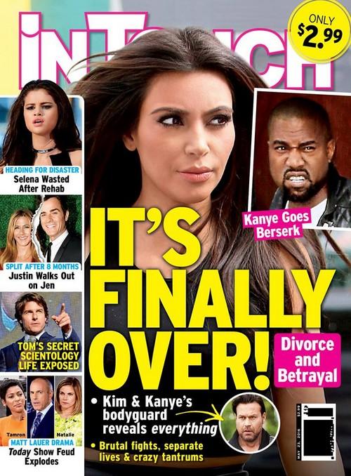 Kim Kardashian Meets Divorce Lawyers Amidst Kanye West Break-Up Rumors