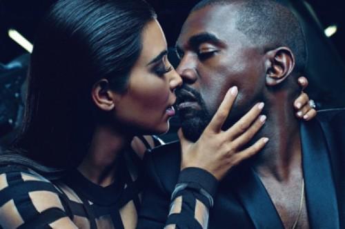 Kim Kardashian and Kanye West Fight Divorce Rumors With Kiss