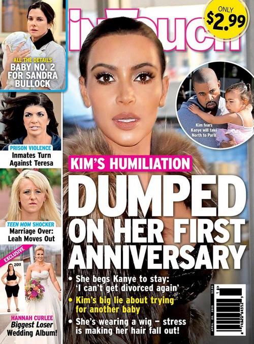 Kim Kardashian Divorce: Kanye West Breakup Over Pregnancy Lie?