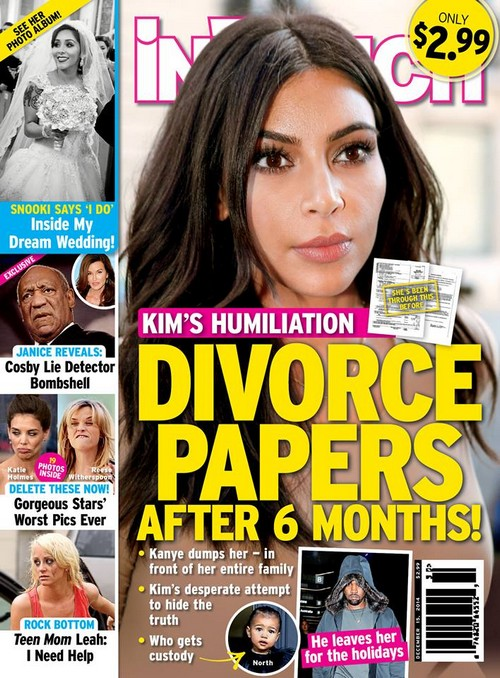 Kim Kardashian Divorce: Kanye West Serves Papers: Custody Battle Over North West Ensues