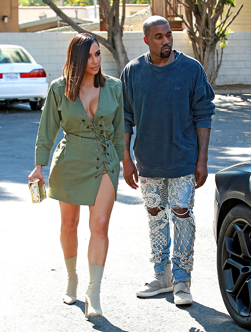 Kim Kardashian Divorce: Kanye West Furious Kim Using Children To Help Save Tanking KUWTK Empire!