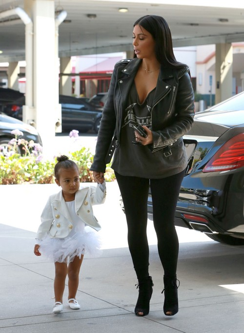 Kim Kardashian Pregnant With Second Child: Kayne West A Father Again - North West a Sister