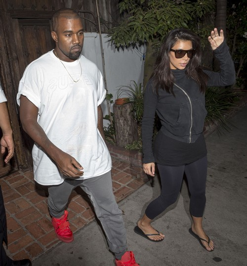 Kim Kardashian Pregnant with Second Child - Update: Kanye West Takes Kim to the Doctor