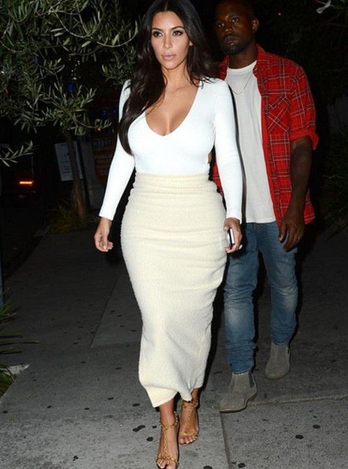 Kim Kardashian and Kanye West Divorce: Couple Separate For 2015, Kim Takes North West