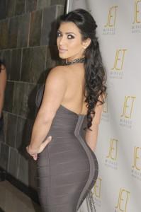 Kim Kardashian Packs On The Pounds
