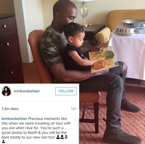 Kim Kardashian, Kanye West's Son Announced On Instagram: KUWTK Star Confirms She's Pregnant With Baby Boy! (PHOTO)