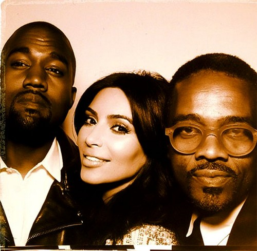Kim Kardashian and Kanye West Instagram Wedding Photo Booth Pics!