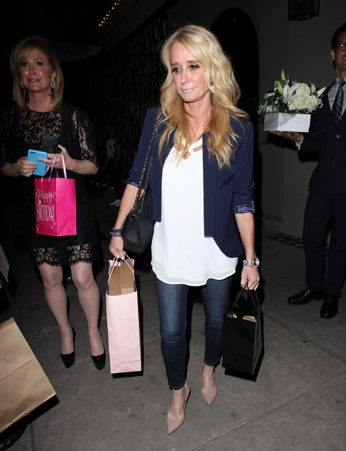 Kim Richards Arrested For Drunk Fight: RHOBH Star Lies About Being Sober, Headed Back To Rehab?