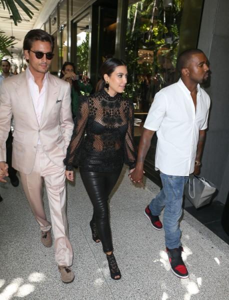 Scott Disick Playing Daddy For Kim Kardashian's Baby - Bad Idea? 0515