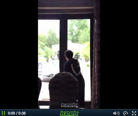 Kim Kardashian Keek Video Of Alleged Gate-Crashing Paparazzo Just Another Ridiculous Kardashian Publicity Scam?