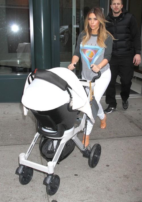 Kim Kardashian And Kourtney Kardashian Fight Over Pimping Out Kids - Who Makes More $$