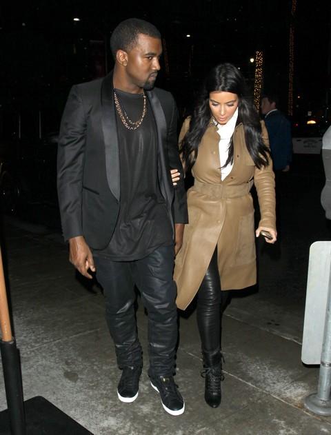 Pregnant Kim Kardashian Seen At OB-GYN Office With Kanye West (Photos)