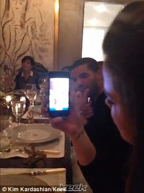 "Kim Kardashian's ""Regular Family Dinner"" Keek Video Release: Kim Is Still Hiding Like A Freak of Nature - Regular or Insane?"