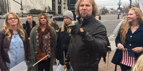 Kody Brown's Marriages In Crisis: 'Sister Wives' Star Leads Protest Against Bigamy Law