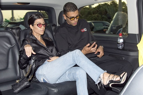 Kourtney Kardashian Neglecting Her Children To Party In Cannes?