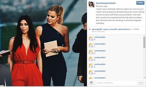 "Kourtney Kardashian Skips Armenia Trip For Scott Disick, Not ""Three Young Children"""