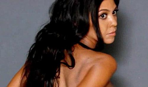 Kourtney Kardashian Naked Pics Break Internet: Kris Jenner Told E! To Botch Photoshoot Censorship For KUWTK Ratings Boost?