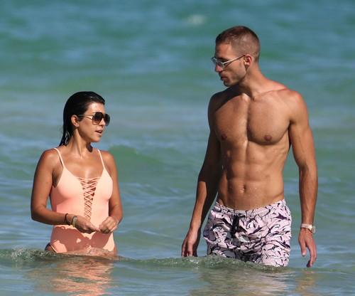 Kourtney Kardashian Spotted With Mystery Man In Miami Beach: Takes New Boyfriend To Hotel