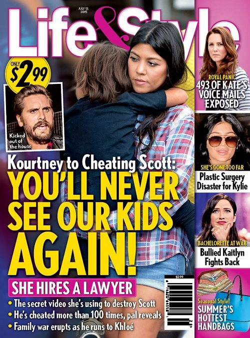 Kourtney Kardashian, Scott Disick Custody Battle: Lawyers Won't Let Scott See Kids After Cheating Scandal?