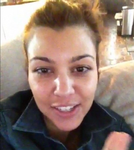Kourtney Kardashian Promises To Release New Sex Tape on Keek?