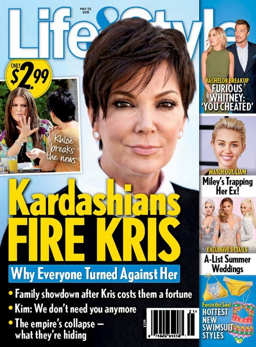 Kris Jenner Fired by Kim Kardashian: Says She Doesn't Need Momager Anymore - Costs Family Millions of Dollars?
