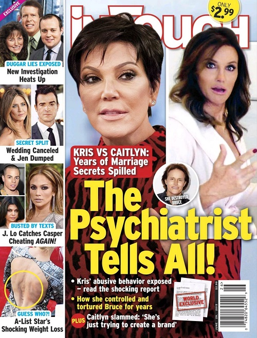 Caitlyn Jenner And Kris Jenner Feud: Kris' Psych Evaluation Reveals KUWTK Momager's A Narcissist - Abusive Behavior Exposed!