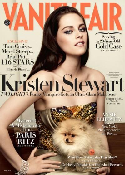Kristen Stewart Tells Vanity Fair She's A Weirdo Who Likes To Smoke Pot 0605
