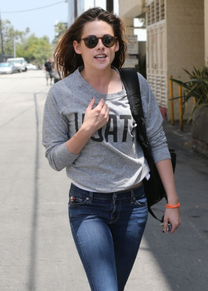 Kristen Stewart Says 'I Love Rob' VIDEO - Prank Or Proclamation? 0709