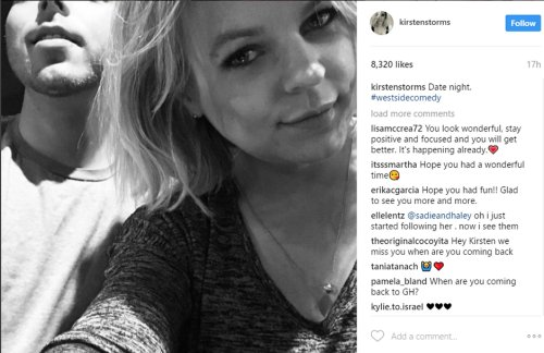 General Hospital Spoilers: Kirsten Storms Dating, Happy and Healthy - Back to GH Soon!