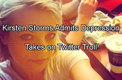 General Hospital Spoilers: Kirsten Storms Admits Depression Struggle – But Looking Healthier