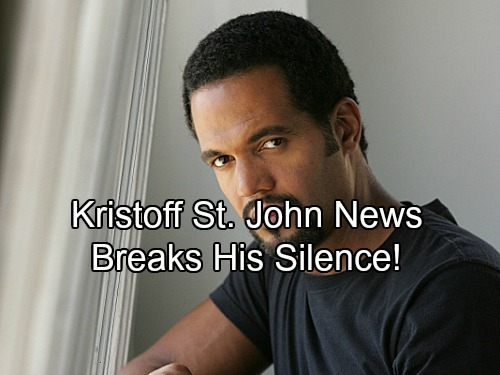 The Young and the Restless Spoilers: Kristoff St. John Breaks Silence After Hospitalization With Positive Message