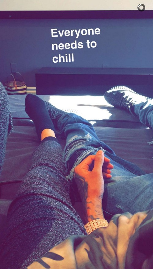 Kylie Jenner and Tyga Back Together Already: New SnapChat Photos Say Yes!