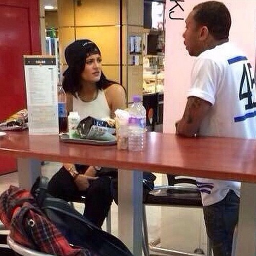 Kylie Jenner and Tyga Engaged? Dating and Banging - Spotted Together In France (PHOTO)