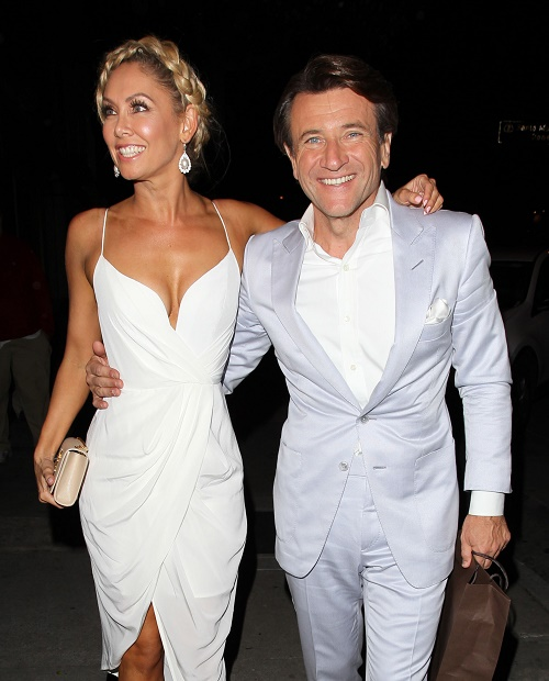 Kym Johnson Dating DWTS Dancing Partner Robert Herjavec of Shark Tank - Robert's Wife Diane Plese Furious?